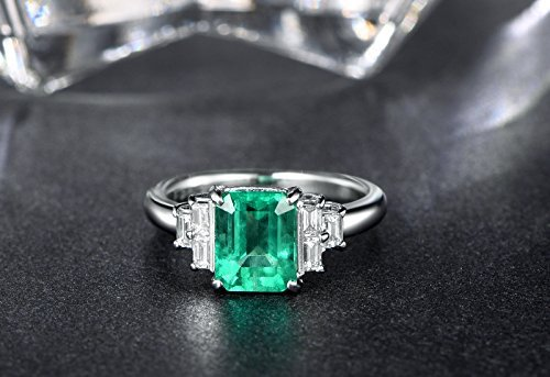 0.38 Ct Emerald Cut Diamond - 2