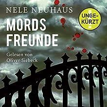 Mordsfreunde (Bodenstein & Kirchhoff 2) Hörbuch von Nele Neuhaus Gesprochen von: Oliver Siebeck