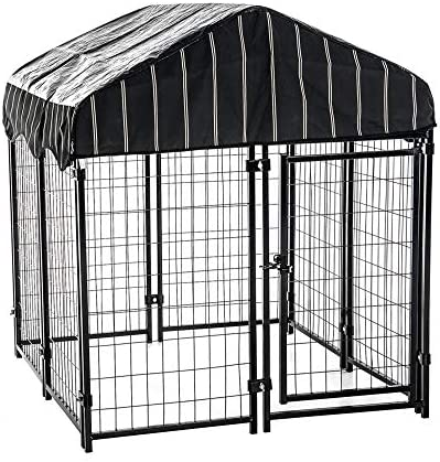 Lucky Dog – Pet Resort Heavy Duty Dog Outdoor Playpen with Water-Resistant Cover, 54 H x 4 W x 4 L
