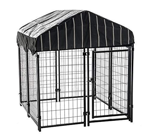 Lucky Dog 60445 4'6' x 4' x 4' Welded Wire Dog...