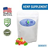 Serenity Hemp Extract Gummies 300mg - Full spectrum Hemp Gummy Bears - 10mg per gummy - 30ct - Tastes Like Hemp - Pain & Anxiety Relief