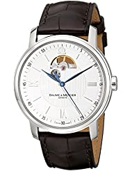Baume & Mercier Mens 8688 Classima Executives Automatic Silver Dial Watch