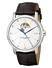 Baume Mercier Men's Classima Executives Automatic Dial Watch Silver A8688