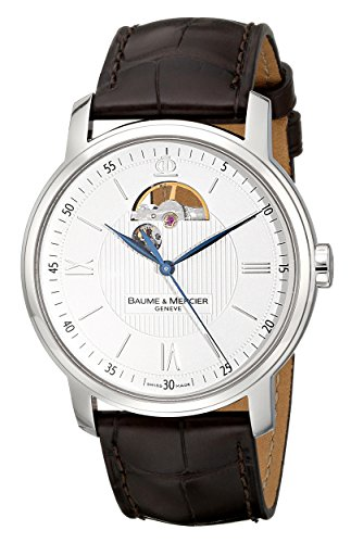 Baume-Mercier-Mens-8688-Classima-Executives-Automatic-Silver-Dial-Watch