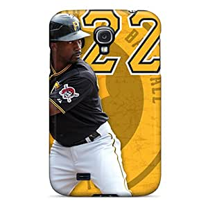 New Arrival Cover Case With Nice Design For Galaxy S4- Pittsburgh Pirates
