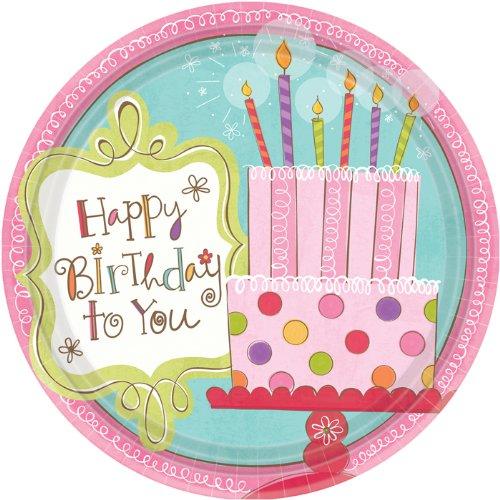 Sweet Stuff Birthday 9in Plate