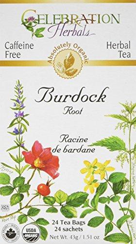 (Celebration Herbals, Tea Bags Burdock Root, 24 Count)