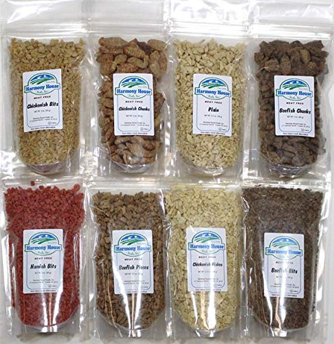 (Harmony House Foods TVP Sampler (8 Count, ZIP Pouches) for Cooking, Camping, Emergency Supply, and More)