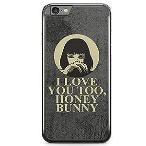 Loud Universe Honey Bunny iPhone 6 Plus Case PULP Fiction Mia Wallace quote iPhone 6 Plus Cover with Transparent Edges