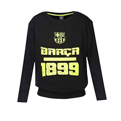 cdac3665c Image Unavailable. Image not available for. Colour  FC BARCELONA Boys Round  Neck Printed Sweatshirt