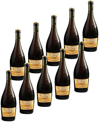 Cerveza Artesanal La Socarrada - 33 cl. (Caja de 10 botellas): Amazon.es: Alimentación y bebidas