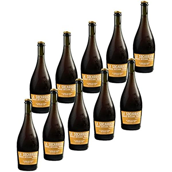 Cerveza Artesanal La Socarrada - 33 cl. (Caja de 10 botellas ...