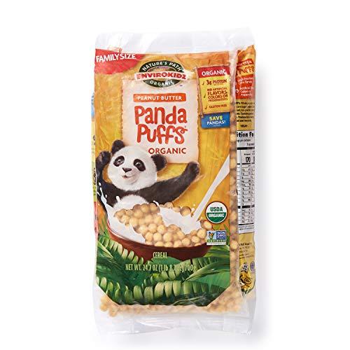 Envirokidz Organic Peanut Butter Panda Puffs Enviropakz, 25 Ounce ()
