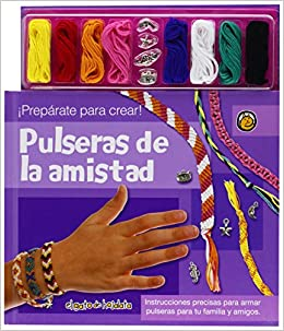 Pulseras de la amistad / Friendship bracelets (Recrearte) (Spanish Edition): Editorial Guadal S.A.: 9789876684842: Amazon.com: Books