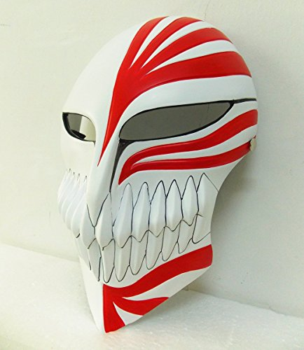 Gmasking Resin Bleach Ichigo Kurosaki Full Hollow Movie Replica+Gmask Helmet Keychain (Bleach Ichigo Full Hollow Mask)