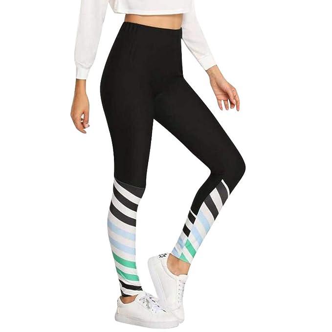 cinnamou Pantalon Yoga Mujer, Fitness Pantalones De Yoga con ...