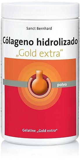 Colgeno hidrolizado y gelatina