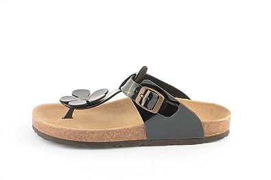 Le Clare Damen Sandalen mit anatomischen Fußbett Aus Naturkork 9KaaRx6sa