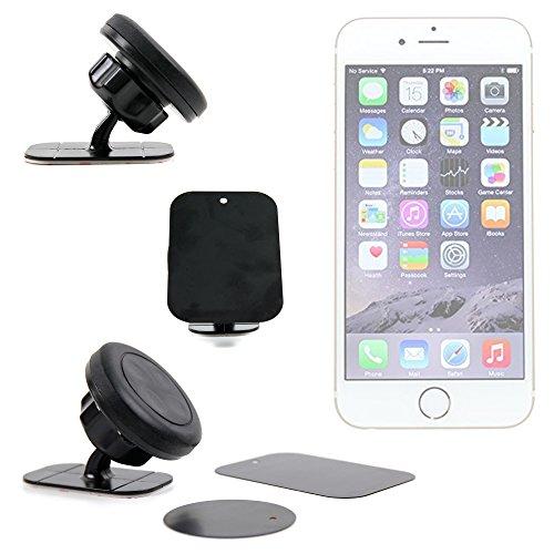 Supporto Magnetico Cruscotto Auto Per Apple iPhone 7 | 7 Plus | SE | 6s Plus | 6s | 6 | 5s | 5c | 5 | 4 | 4s - DURAGADGET