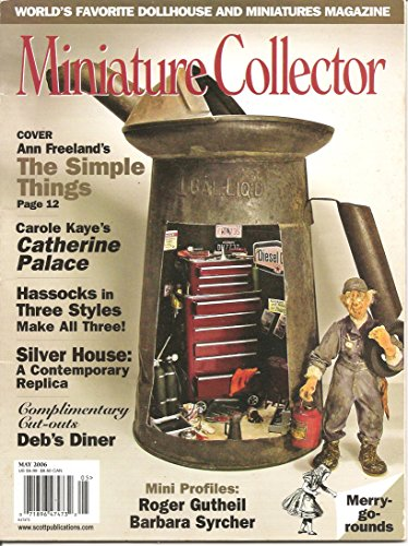 Miniature Collector Magazine - Miniature Collector Magazine Volume 29 #1 (May 2006)