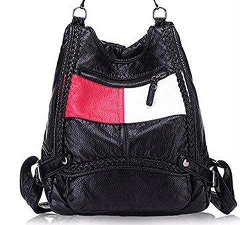souple A dos PU cuir réel à dos en Sac Girl Femme portable à Sac à Mode VHVCX School femme pour Daily dos Sac ordinateur 100 Bracelet femmes 8BwnFq0X