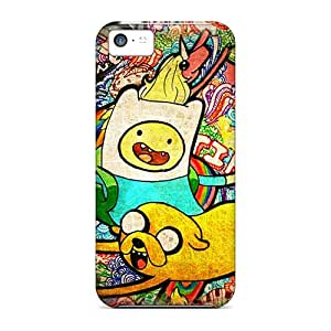 Cases Covers For Iphone 5c Strong Protect Cases - Adventure Time Poster Design