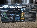 Alien vs. Predator: The Ultimate Showdown DVD Collector's Set (15 discs including 2-Disc sets of Alien, Aliens, Aliens 3, Alien: Resurrection, Predator, Predator 2 and Alien vs. Predator + Bonus Disc, Comic Book, 2 Movie Tickets to Alien vs. Predator 2 + Lighted Figures)