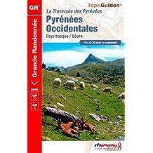PYRÉNÉES OCCIDENTALES  - 64 - GR - 1086 2016 N.É.