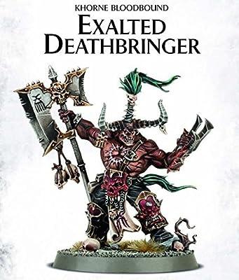 Warhammer 40K Age of Sigmar Khorne Bloodbound Exalted Deathbringer by Games Workshop by Games Workshop