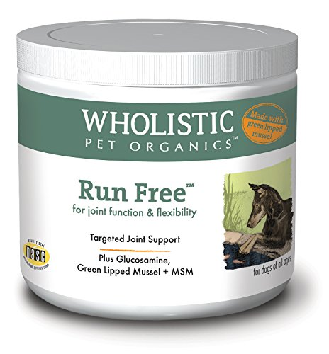 Wholistic Pet Organics Run Free with Green Lipped Mussel Supplement, 8 oz