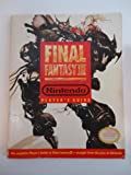 Final Fantasy III 3 Nintendo Player's Strategy Guide
