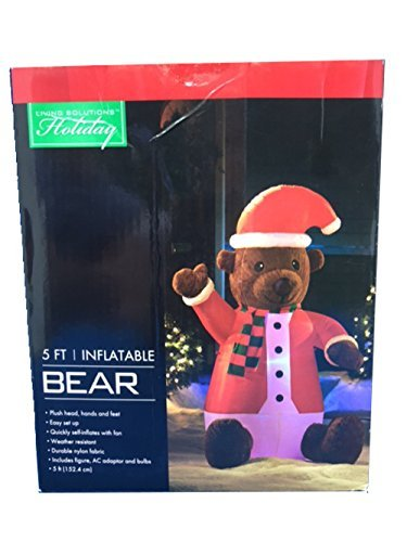 Outdoor Lighted Teddy Bear in US - 1