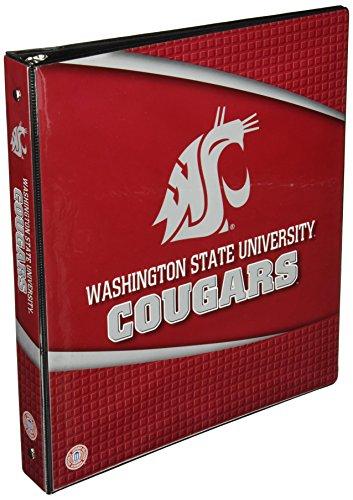 Binder Embellishments (Washington State Cougars 3 Ring Binder - 1