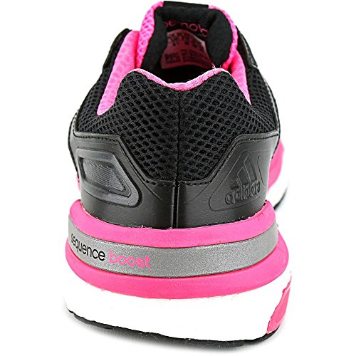 Adidas Supernova Sequence Boost 7 Running Sneaker Schoen - Dames Black1 / Carmet / Neonpk