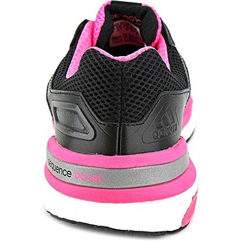 Adidas Supernova Sequence Boost 7 Chaussure De Course À Pied - Black1 / Carmet / Neonpk Pour Femme