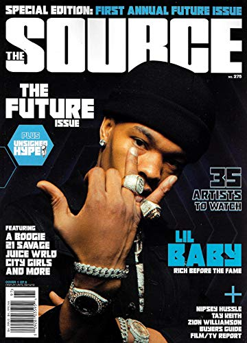 THE SOURCE Magazine (June, 2019) Issue 275, THE FUTURE ISSUE, LIL BABY Cover, Nipsey Hussle, Tay Keith, Zion Williamson