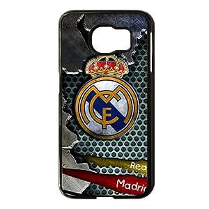 Real Madrid Club de F¨²tbol Black Phone Case for Samsung S6