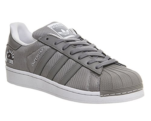 Originaux Adidas Superstar Beck Bauer Baskets Gentleman Gris / Blanco