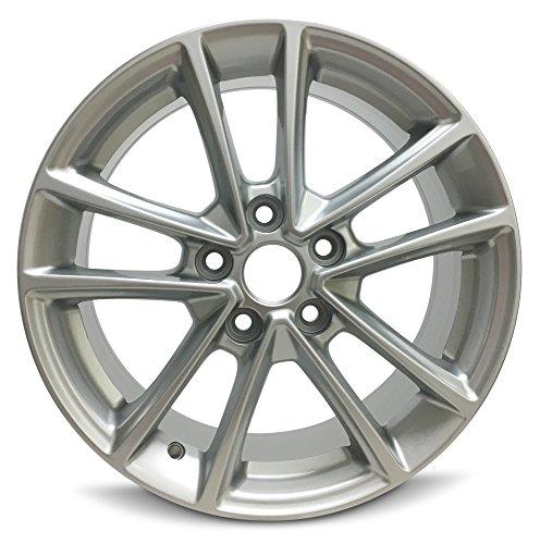 Ford Focus 16 Inch 5 Lug 10 Spoke Alloy Rim/16x7 5-108 Alloy Wheel (Alloy 5 Spoke)
