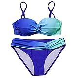 2018 Sexy Bikini Push Up Swimwear Women Swimsuit Bandeau Brazilian Bikini Set