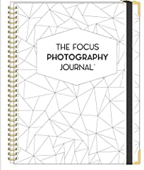 The Focus Photography Journal is the action plan for photographers to get (and keep!) you going in the right direction. It's the perfect spot to keep everything organized in one place- everything from inspiration to your marke...
