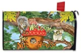 Briarwood Lane Welcome to the Nut House Summer Large Mailbox Cover Humor Oversized