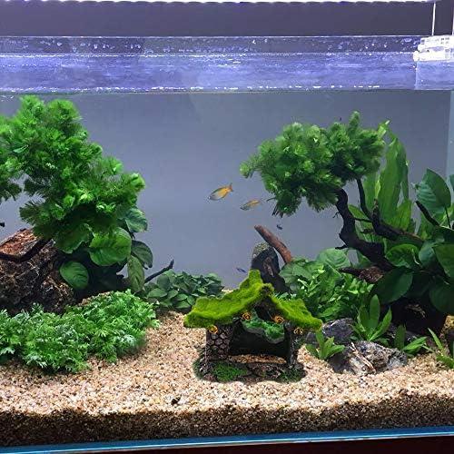 Decoración de troncos de acuario para casas de peces 7