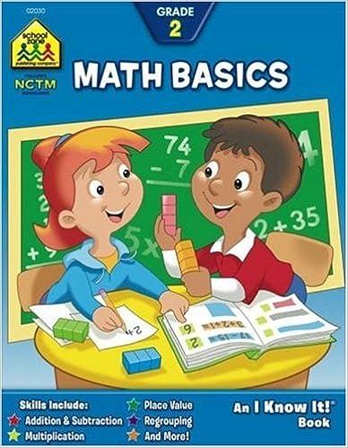 Amazon.com: Math Basics Grade 2 (I Know It! Books) (9780938256304 ...