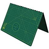 Cutting Mat, Self Healing Cutting Mat, Hobby Cutting Mat, Sewing Cutting Mat, Foldable Cutting Mat Imperial 34 inch x 22.5 inch A1 - Green