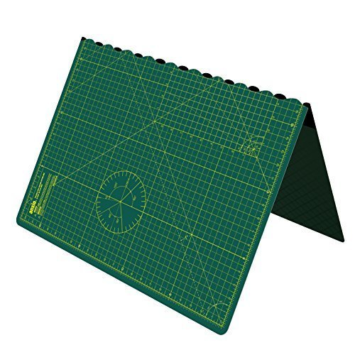 Cutting Mat, Self Healing Cutting Mat, Hobby Cutting Mat, Sewing Cutting Mat, Foldable Cutting Mat Imperial 17 inch x 11 inch A3 - Green ANSIO