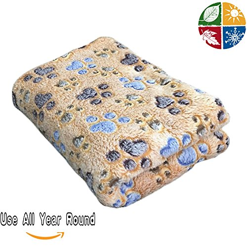 Pet-Dog-Blanket-Fleece-Fabric-Puppy-Cat-Soft-Blankets-Throw-For-Sleep-Mat-Couch-Sofa-Doggy-Warm-Bed-with-Paw-Prints