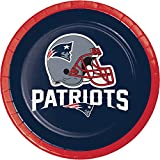 New England Patriots Dessert Plates, 24 ct