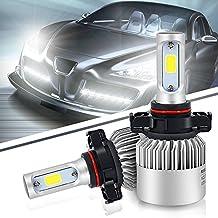 Turbo SII H16(EU) Led Headlight Conversion Kits 72w 8000Lm 5202 Headlight Bulbs Bridgelux COB All in One LED Fog Light Replace for Halogen or HID Bulbs