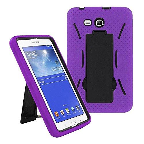 Galaxy Tab A 7.0 Case by KIQ (TM) Heavy Duty Hybrid Silicone Skin Hard Plastic Case Cove for Samsung Galaxy Tab A / A6 [T280 & T285] - ()